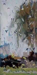 Rain on me (26), olieverf op linnen, 60 x 40 cm, 2019