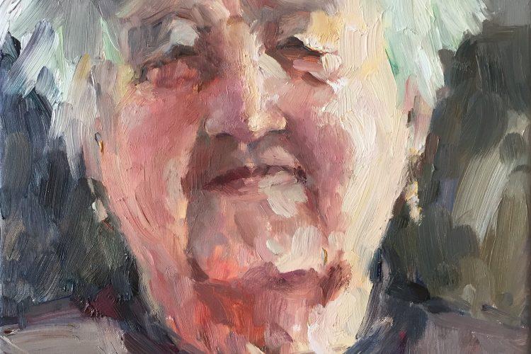 Portret workshop met olieverf