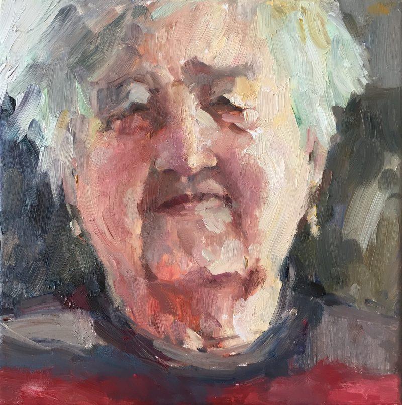 Portret van Moeke