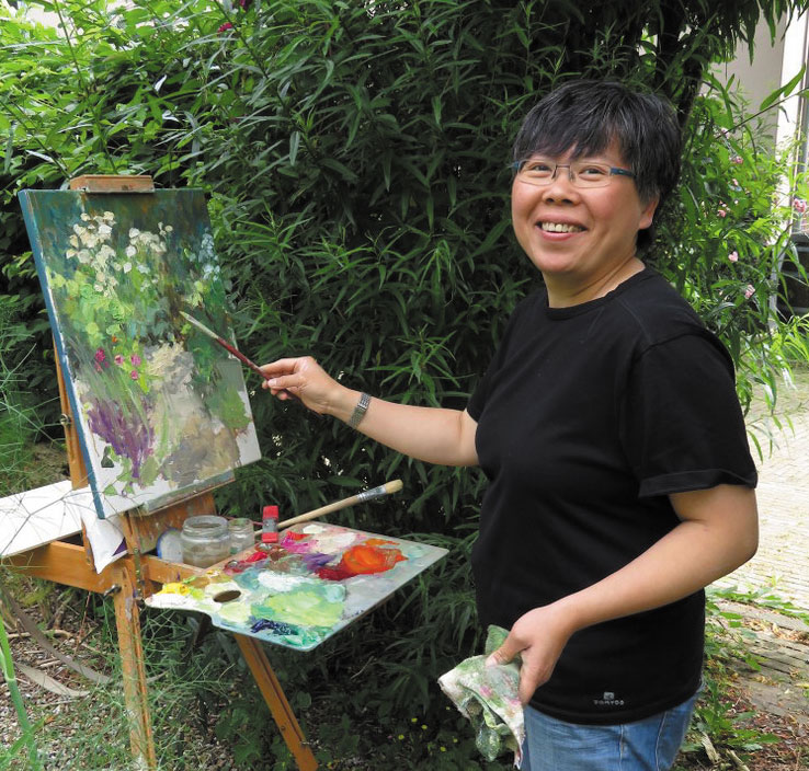 MeldaWibawa Workshop plein air schilderen