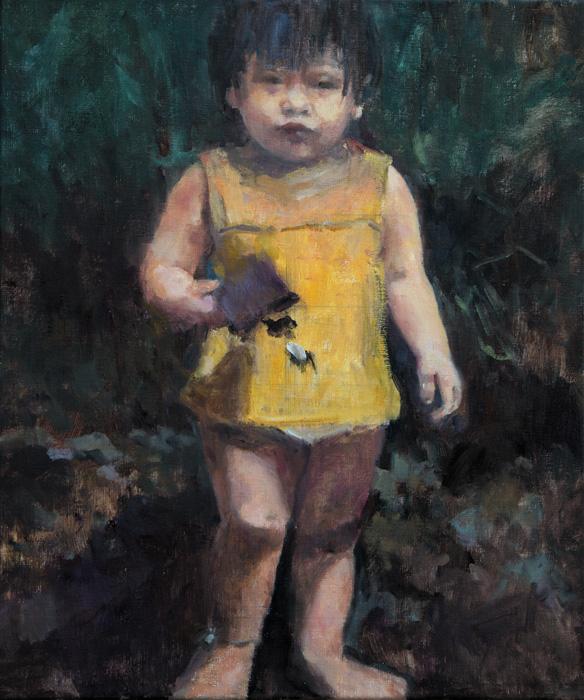 6 - IKKE olieverf, 60x50 - portret in opdracht - ntk