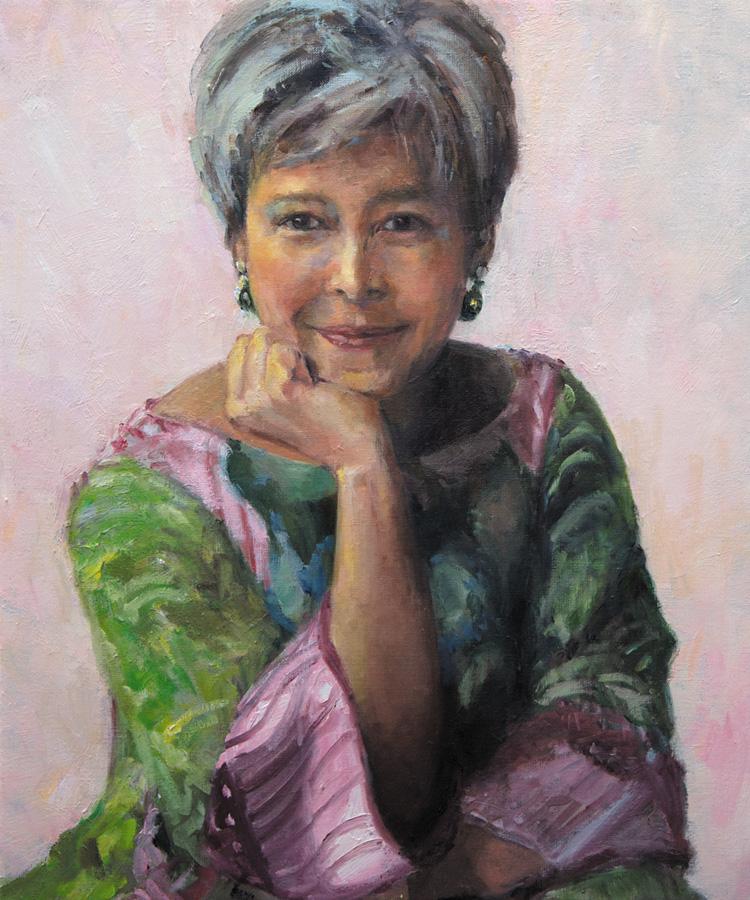 Renata, 60 x 50 cm, 2019