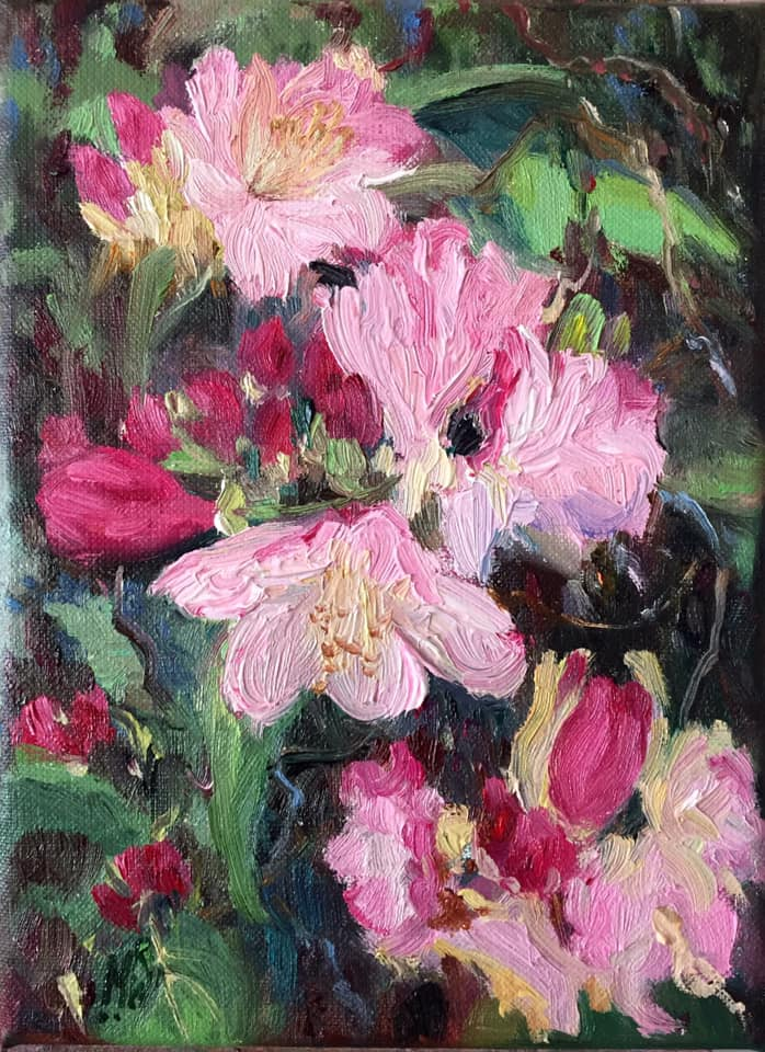 H - Rhododendron(1) - 24x18cm