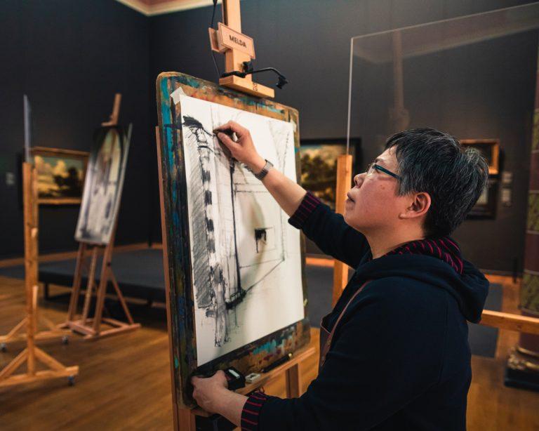 Melda Wibawa - Project Rembrandt 2020 - Rijksmuseum