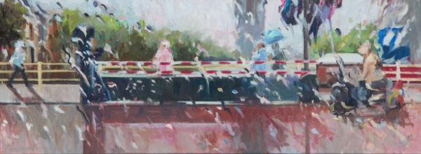 27 - Rain on me (38) - 60x160 cm