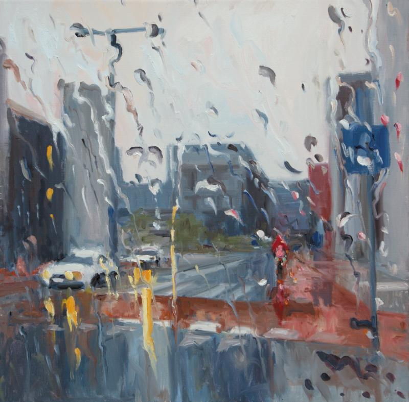 3 - Rain on me 21 - 70x70cm