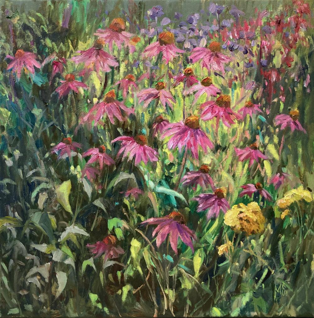 'Enchina' - 60 x 60 cm