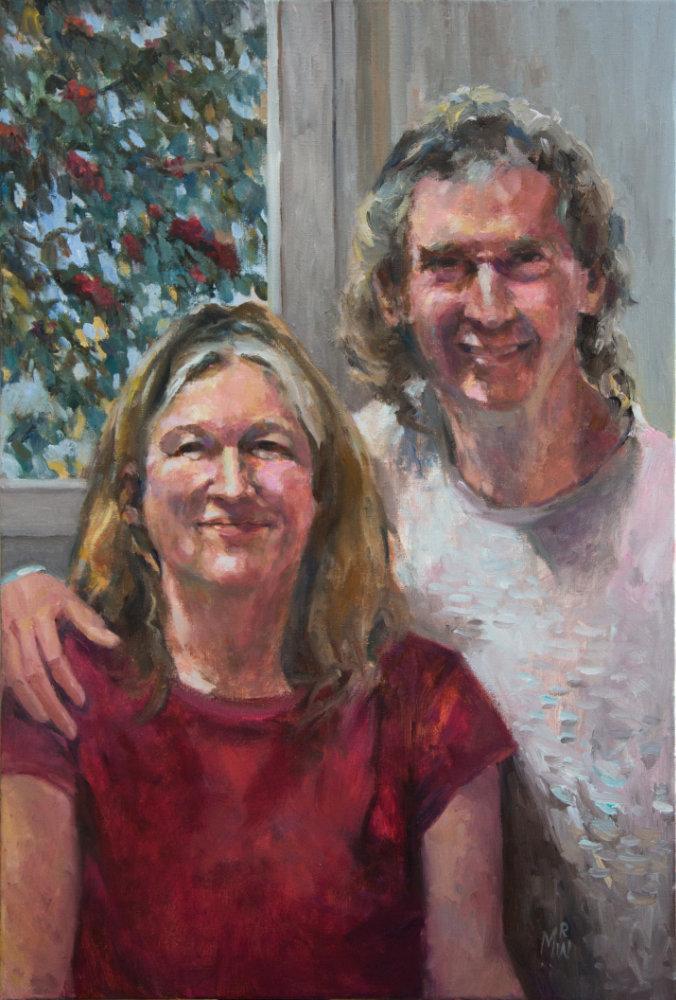 portrait of Sabine en Hendrik
