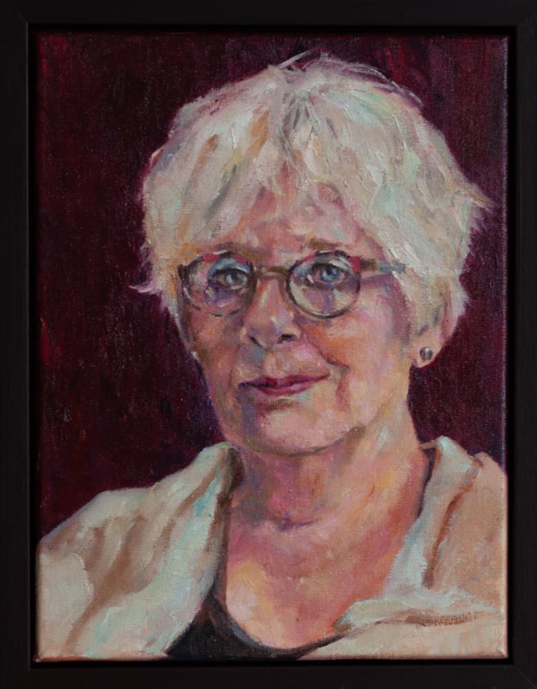Portret opdracht - Dieke - 40x30cm, 2021